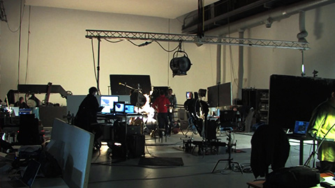 Making of Golden Arcs – Shot at the Amsterdam Studios of Caramel Pictures